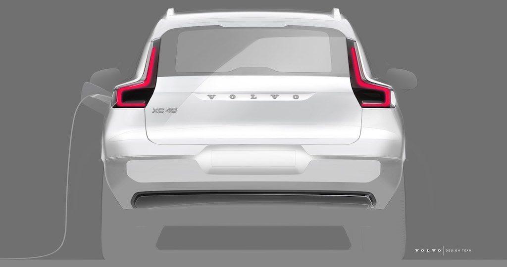 Volvo XC40 électrique